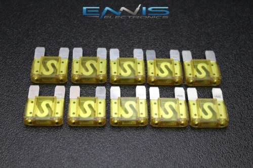 MINI FUSE TAP 24K GOLD PLATED ADD A CIRCUIT ATO HOLDER FTMN 10 PCS