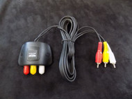 3 IN 1 RCA AUDIO VIDEO CABLE EXTENDER DVD XBOX PLAYSTAION CONNECT MONITOR