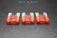 3 PACK MAXI 20 AMP FUSE BLADE STYLE CAR BOAT AUTOMOTIVE AUTO HOLDER FUSES EE