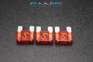 3 PACK MAXI 50 AMP FUSE BLADE STYLE CAR BOAT AUTOMOTIVE AUTO HOLDER FUSES EE