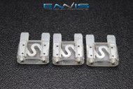 3 PACK MAXI 80 AMP FUSE BLADE STYLE CAR BOAT AUTOMOTIVE AUTO HOLDER FUSES EE