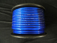 4 GAUGE BLUE WIRE 75 FT PRIMARY POWER GROUND STRANDED AWG CABLE POSITIVE NEW
