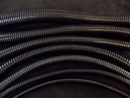 5 FT EACH BLACK SPLIT LOOM 1/8 1/4 3/8 1/2 5/8 3/4 1 '' WIRE CONDUIT TUBING