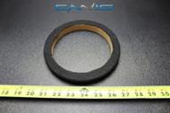 1 MDF SPEAKER RING SPACER 6 INCH CARPET WOOD 3/4 THICK FIBERGLASS RING-06CBK