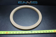 1 MDF SPEAKER RING SPACER 12 INCH WOOD 3/4 THICK FIBERGLASS BOX ENCLOSE RING-12R