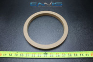 1 MDF SPEAKER RING SPACER 8 INCH WOOD 3/4 THICK FIBERGLASS BOX ENCLOSE RING-8R