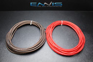 8 GAUGE WIRE 10 FT 5 RED 5 BLACK AWG CABLE ENNIS ELECTRONICS SUPER FLEXIBLE