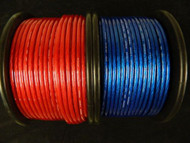 8 GAUGE WIRE 10 FT 5 RED 5 BLUE AWG CABLE POWER GROUND STRANDED PRIMARY AMP CAR
