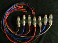 8 GAUGE WIRE 2 FT AGU HOLDER 60 AMP FUSE 5/16 RING TERMINALS POWER AWG