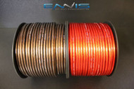 8 GAUGE WIRE 500 FT 250 RED 250 BLACK AWG CABLE ENNIS ELECTRONICS POWER GROUND