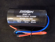 NOISE FILTER 10 AMPS 12V HUM FILTER NOISE ENGINE SUPPRESSOR POWER WIRE IBNF10