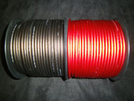PER 5 FT 8 GAUGE SPEAKER WIRE RED BLACK SUPERFLEX FLEX CABLE AWG MONSTER SUBS