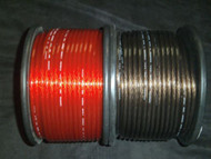 10 FT 8 GAUGE SPEAKER WIRE RED BLACK CABLE AWG STEREO CAR HOME MONSTER SUBS