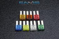 1 EACH ATR AMP VARIETY FUSES BLADE CIRCUIT COOPER BUSSMANN MICRO 2 LEG