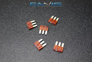5 PACK ATL 10 AMP FUSE BLADE DUAL CIRCUIT COOPER BUSSMAN MICRO 3 LEG ATL10