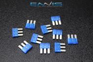 10 PACK ATL 15 AMP FUSE BLADE DUAL CIRCUIT COOPER BUSSMAN MICRO 3 LEG ATL15