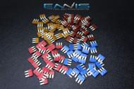 100 PCS (25) EA ATL 5 7.5 10 15 AMP FUSE DUAL CIRCUIT COOPER BUSSMAN MICRO 3 LEG