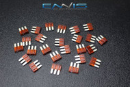 25 PACK ATL 10 AMP FUSE BLADE DUAL CIRCUIT COOPER BUSSMAN MICRO 3 LEG ATL10