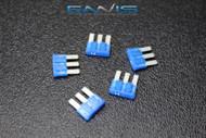 5 PACK ATL 15 AMP FUSE BLADE DUAL CIRCUIT COOPER BUSSMAN MICRO 3 LEG ATL15