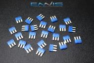 50 PACK ATL 15 AMP FUSE BLADE DUAL CIRCUIT COOPER BUSSMAN MICRO 3 LEG ATL15