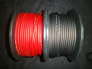 10 GAUGE AWG WIRE 10 FT 5 BLACK 5 RED CABLE POWER GROUND STRANDED PRIMARY
