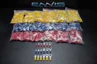 1800 PK 10-12 14-16 18-22 GAUGE VINYL RING TERMINALS 100 PCS #6 8 10 1/4 5/16 38