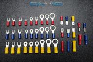 4000 PK 10-12 14-16 18-22 GAUGE VINYL VARIETY RING SPADE BUTT BULLET 100 PCS EA