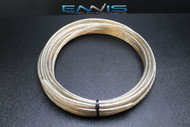 10 GAUGE SPEAKER WIRE 50 FT CLEAR PAIRED CABLE AWG STEREO CAR MONSTER SUBS