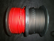 10 GAUGE SPEAKER WIRE 50 FT RED BLACK CABLE AWG STEREO CAR HOME MONSTER SUBS