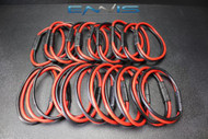 (20) 14 GAUGE QUICK DISCONNECT 2 PIN 10'' LEAD AWG WIRE HARNESS AQK-12-14BG