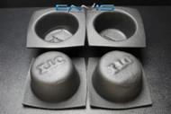 4 PCS SPEAKER BAFFLE ACOUSTIC FOAM 6.5'' ROUND SMALL FRAME CAR AUDIO BASS VXT65