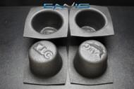 4 PCS SPEAKER BAFFLE ACOUSTIC FOAM 5.25'' ROUND UNIVERSAL CAR AUDIO BASS VXT55