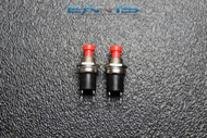 2 PCS PUSH BUTTON SWITCH SPST MOMENTARY MINI BUTTON 3 AMP 125V 2 PIN NB-602PA