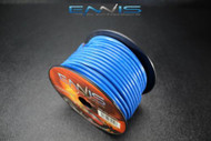 10 GAUGE WIRE ENNIS ELECTRONICS 100 FT BLUE PRIMARY STRANDED AWG COPPER CLAD