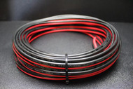 8 GAUGE 25 FT RED BLACK ZIP WIRE AWG CABLE POWER GROUND STRANDED COPPER CAR