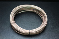12 GAUGE CLEAR SPEAKER WIRE 25 FT AWG CABLE POWER GROUND STRANDED HOME CAR