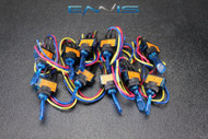 10 PCS TOGGLE SWITCH ON OFF BLUE ROCKER LED 12V 20 AMP 3 PIN IS-EC-IT1220BLU