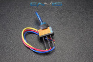 TOGGLE SWITCH ON OFF BLUE ROCKER LED 12V 20 AMP 3 PIN IS-EC-IT1220BLU
