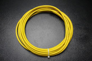 MICROPHONE CABLE YELLOW 50 FT WIRE SHEILDED NOISE FREE MIC LO-Z CORD AUDIO