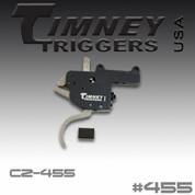 Timney 455: Trigger for the CZ 455 Magnum Long Rifle