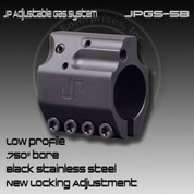 JP JPGS-5B: Adjustable Gas Block (Black)
