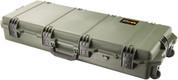 Pelican/Storm iM3100: Pelican Case w/ Uncut Standard Foam OD Green