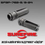 SureFire SF3P-762-5/8-24 .30cal Flash Hider / Suppressor Adapter