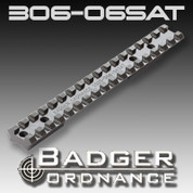 Badger Ordnance 306-06SAT: Savage Short Action Scope Rail (For Rifles w/Accutrigger) 20 MOA Cant