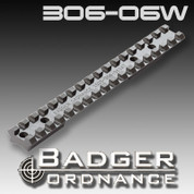 Badger Ordnance 306-06W: Winchester Short Action Scope Rail 20 MOA Cant