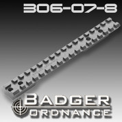 Badger Ordnance 306-07-8: Remington Long Action Scope Rail w/ # 8-40 Screws 20 MOA Cant