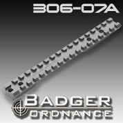 Badger Ordnance 306-07A: Remington Long Action Scope Rail 20 MOA Cant