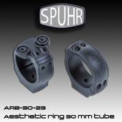Spuhr ARB-30-23: Blazer Aesthetic Ring Mount for 30mm Tube Scopes