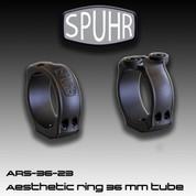 Spuhr ARS-36-23: Sako/Tikka Aesthetic Rings for 36mm Scope Tube