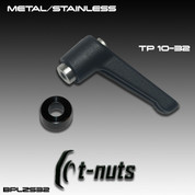 T-Nuts BPLZS-32: T-Nut Metal/Stainless- Thread Pitch 10-32